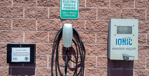Ionic Engineering Limited  offers FREE electric car charging station