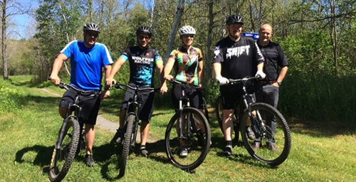 Ionic Mountain Bike Tour kicks off seventh year