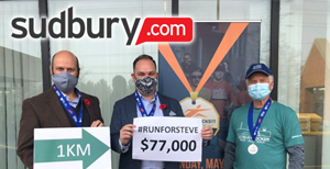 Virtual run, real dollars: SudburyROCKS!! raises $77K