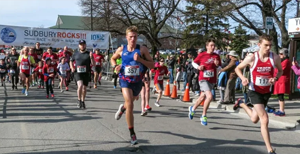 Runners gear up to take part in virtual Sudbury Rocks! Race